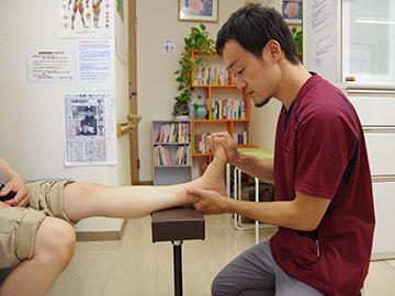 かかと部の痛みの治療法